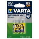 VARTA RECHARGE ACCU Power AAA 1000mAh Blister 4