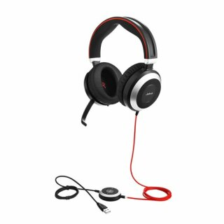 JABRA Evolve 80 MS binaural USB-C NC