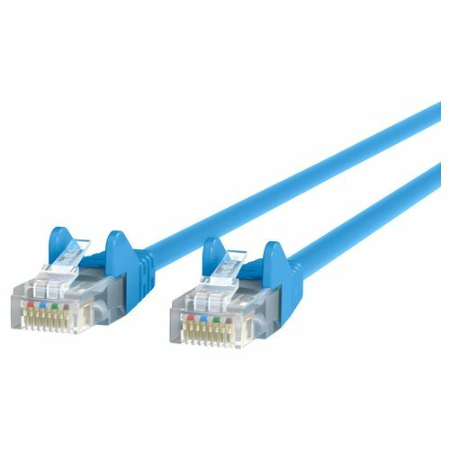 Belkin CAT5e Ethernet Patch Cable, RJ45, M/M, 3m, blau