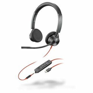 Poly Headset Blackwire C3325-M binaural USB-C & 3,5 mm