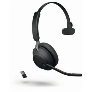 JABRA Evolve2 65 monaural UC USB-A Bluetooth LS black