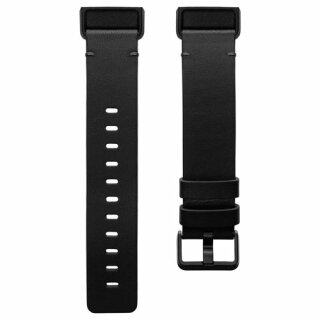 Charge 4, Leather Band,Black,Large