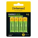 Intenso Batteries Rechargeable Eco AA HR6 2700mAh 4er...